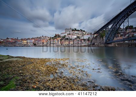 Overlooking the River Douro and Porto