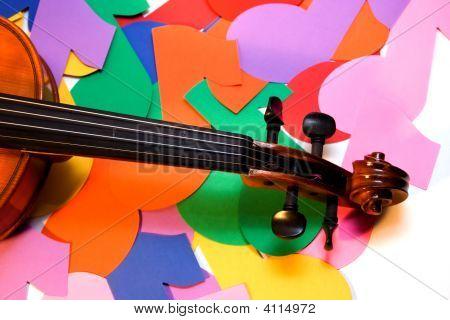 Violin And Notes