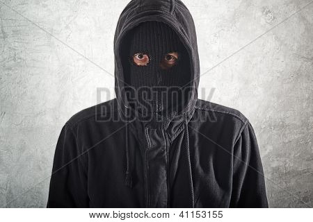 Burglar In Black