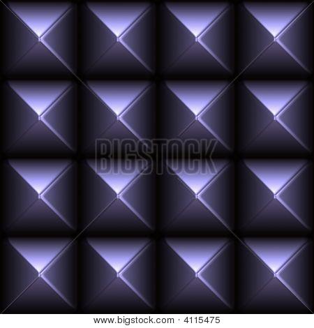 futuristisch glatte Metall Stud grid