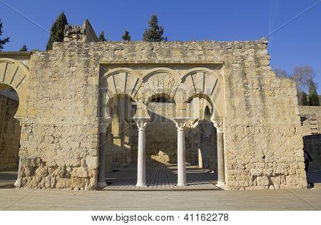 Upper Basilic Building. Medina Azahara.