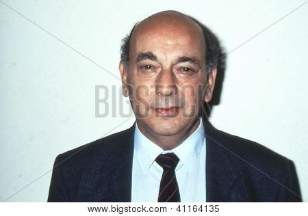 BLACKPOOL, ENGLAND - SEPTEMBER 4: Alan Sapper, Gen. Sec. of the Association of Cinematograph, Television and Allied Technicians, attends the Trades Union Congress on September 4, 1989 in Blackpool.