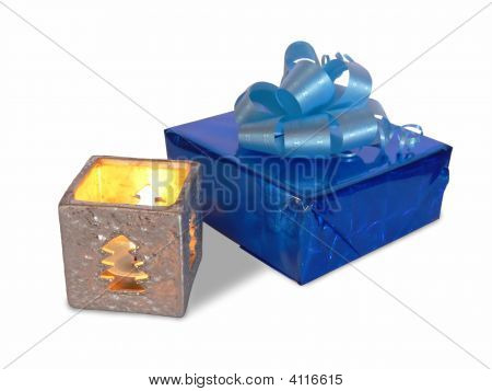 Gift With Candle
