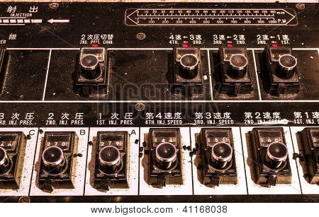 Chinese Old Control Panel