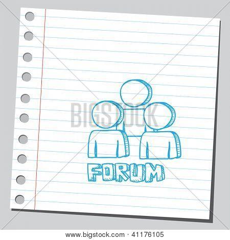 Símbolo do fórum