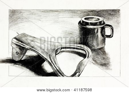 Bottle Opener And Cup