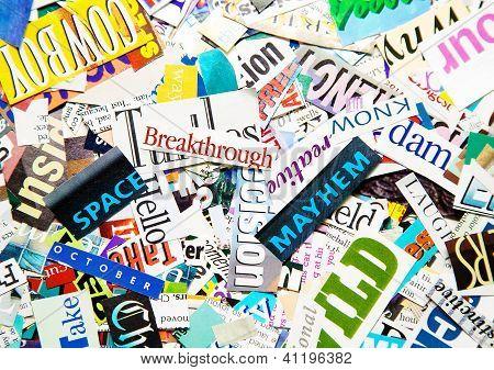 Word Background
