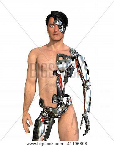 Menschliche Cyborg