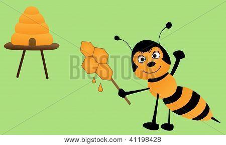 Bee And Lollipop