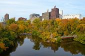 Fall River de Mississippi en Minneapolis