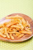 stock photo of ling  - light brown fried noodles or philippine version of french fries aka shing - JPG