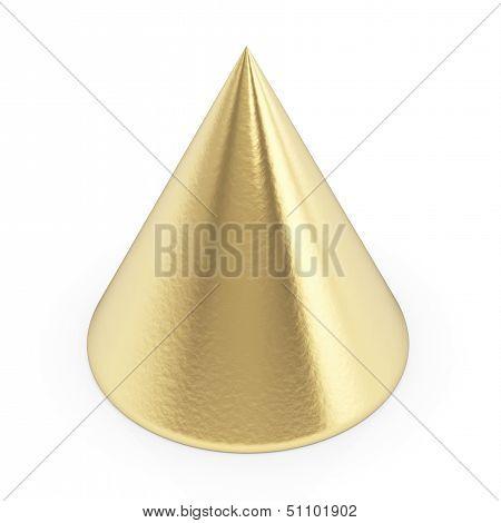Golden 3d cone