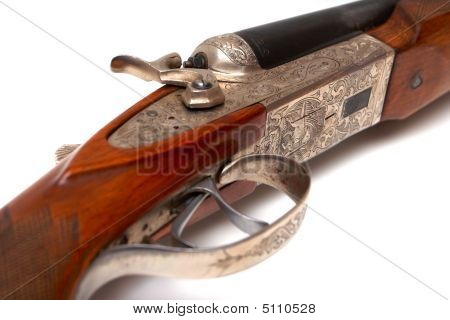 Old-fashioned Rifle
