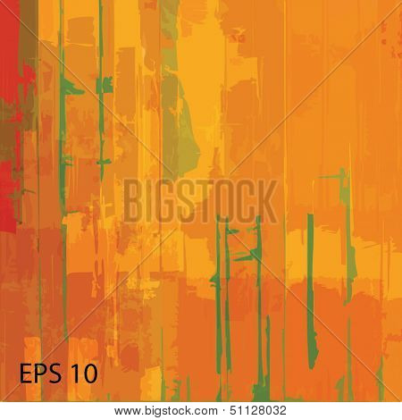 Abstract grunge scratched texture. EPS10 vector
