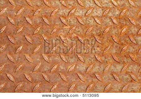 Rust Diamond Plate