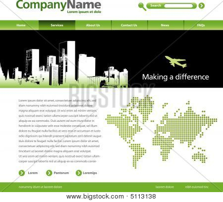 Vector Website Template