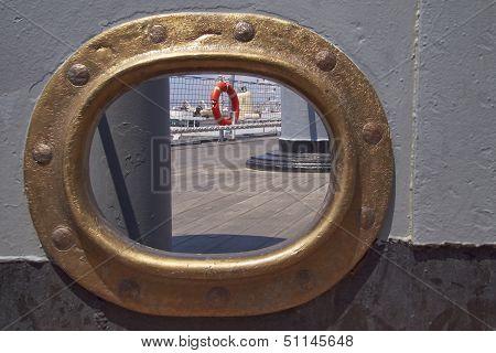 old battleship scuttle