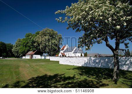 St. Peders Kirke On Bornholm