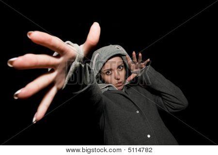 Pull-hand