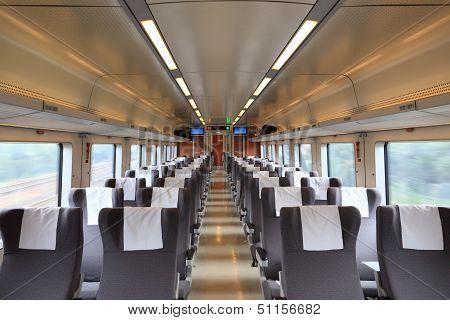 Inside The Train Compartment