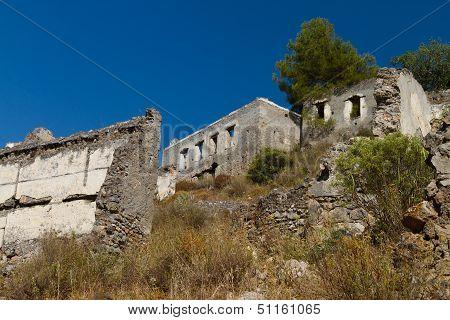 Ruins Of Kayakoy