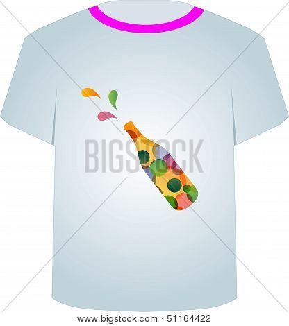 T Shirt Template- Printable tshirt graphic- celebration