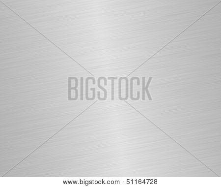 Shiny Brushed Steel