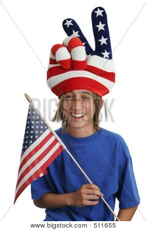 Usa Patriot Boy