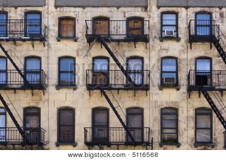 New York Tenement Building