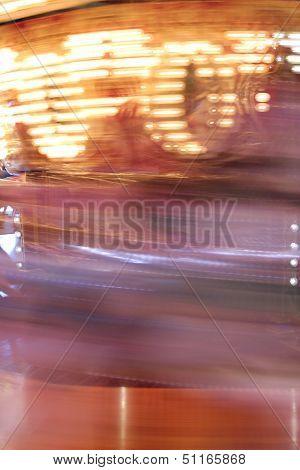 Carousel Horse Blur