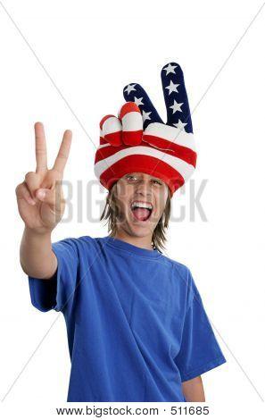Patriotic Teen - Goofy