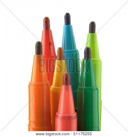 Multicolored Felt Tip Pens