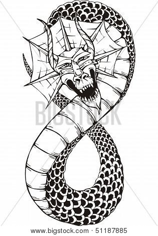 Oriental Dragon Serpent