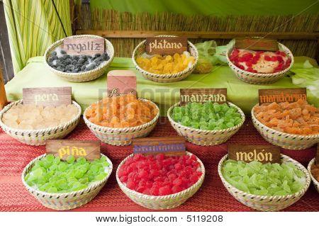 Pastilhas de frutas