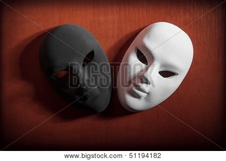 Black And White Masks