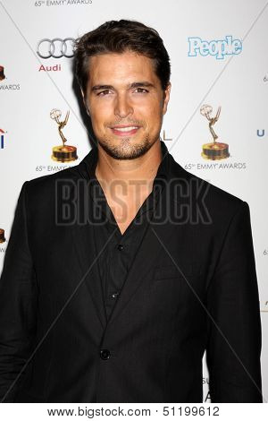 LOS ANGELES - SEP 20:  Diogo Morgado at the Emmys Performers Nominee Reception at  Pacific Design Center on September 20, 2013 in West Hollywood, CA