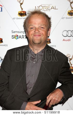 LOS ANGELES - SEP 20:  Toby Jones at the Emmys Performers Nominee Reception at  Pacific Design Center on September 20, 2013 in West Hollywood, CA