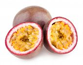picture of passion fruit  - passion fruits - JPG
