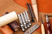 pic of leather tool  - Handmade leather craft tool - JPG