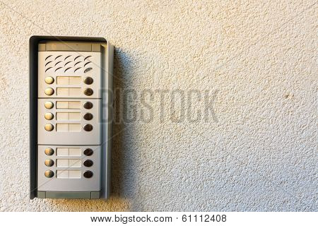 Intercom On The Wall