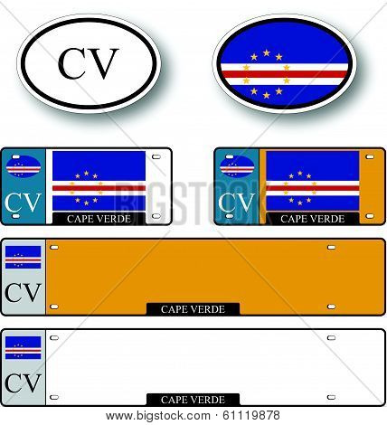 Cape Verde Auto Set