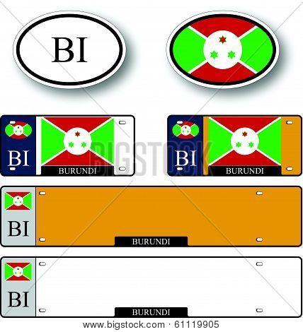 Burundi Auto Set