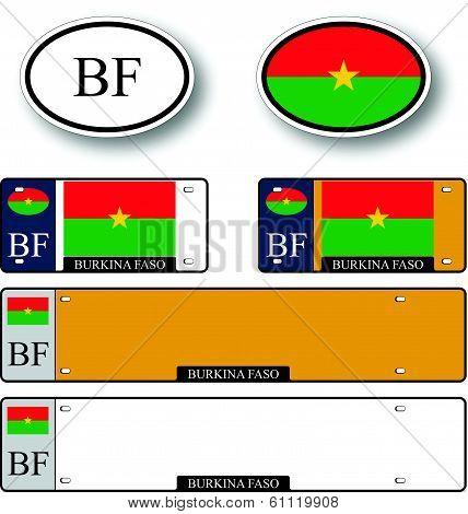 Burkina Faso Auto Set