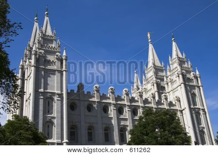 Salt Lake Temple South Side