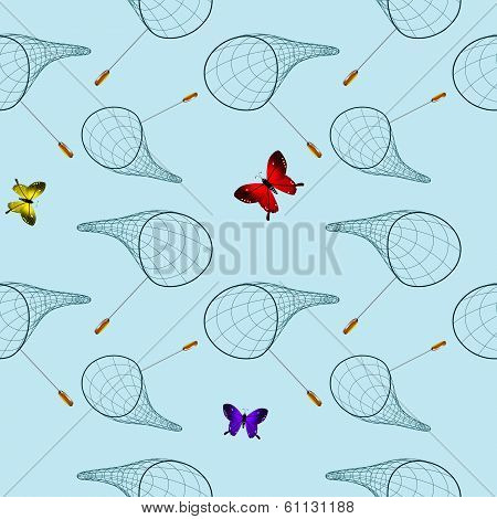 Butterfly Net Pattern