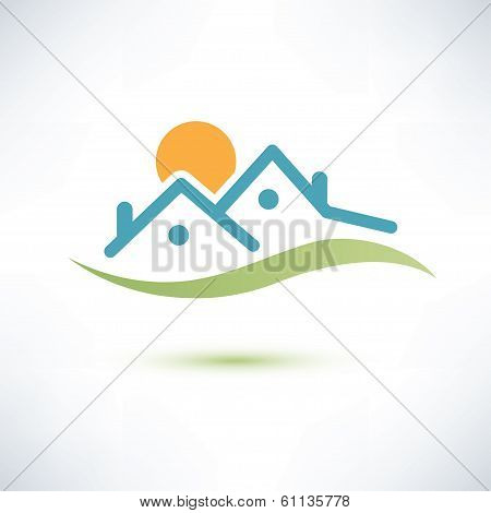 House Symbol, Cottage Vector Icon