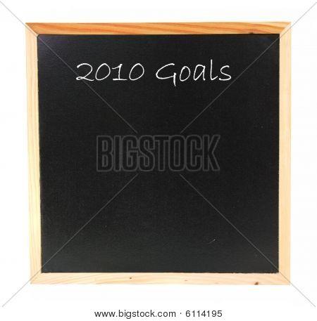 2010 Goals