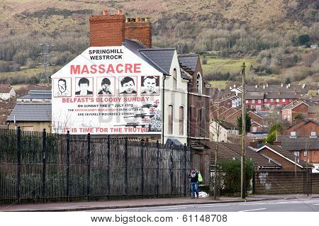 Mural Of Springhill Westrock Massacre
