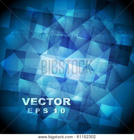 Abstract binary code vector tech design