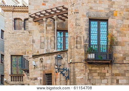 Gothic Quarter Of Barcelona, Spain